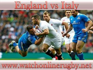 watch Rugby Match >>>> England vs Italy <<<