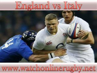 6 Nations rugby England vs Italy