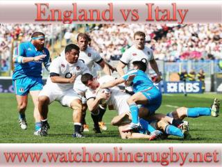 watch England vs Italy 6 Nations rugby