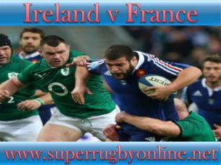 watch Ireland vs France live stream