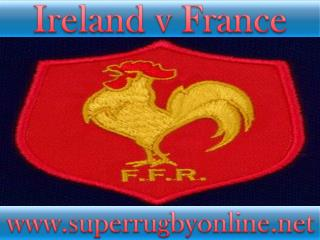 watch Ireland vs France live stream online
