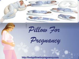 Pillow For Pregnancy