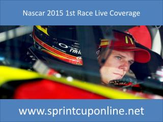 Live Nascar SPRINT UNLIMITED Online