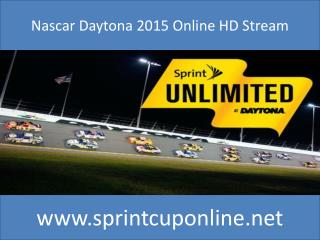 NASCAR Sprint Unlimited at Daytona Live