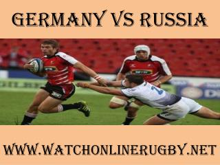 watch rugby Germany vs Russia online