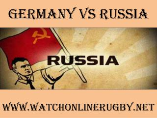 live rugby match Germany vs Russia