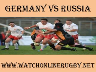 watch Germany vs Russia online rugby 2015