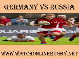 watch Germany vs Russia 6 Nations rugby