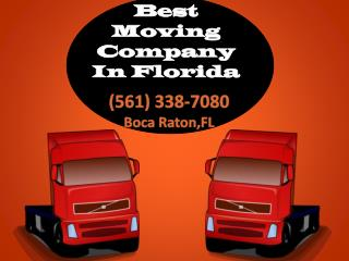 Best Movers and Packers Agency in South Florida Call us toda