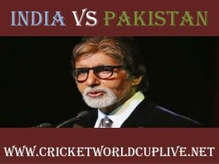 HD STREAM India vs Pakistan %%%% 15 feb 2015 <<<>>>>>