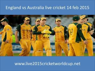 watch Cricket india vs pakistan 15 feb 2015 at Adelaide Aust