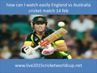 online mac Cricket india vs pakistan 15 feb 2015 at Adelaide