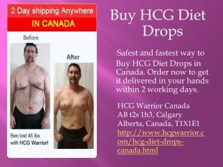 Buy HCG Diet Drops