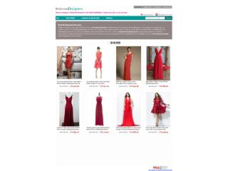 Red Dress for Bridesmaid - BridesmaidDesigners