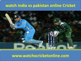Watch Cricket Worldcup pak vs ind 15 feb 2015 live now