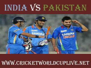 pakistan vs india live cricket