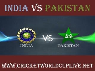 watch pakistan vs india live cricket in Adelaide 15 feb 2015