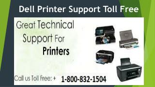 Dell Printer support 1-800-832-1504 | Toll Free Number