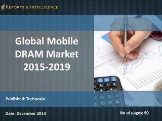 Global Mobile DRAM Market 2015-2019