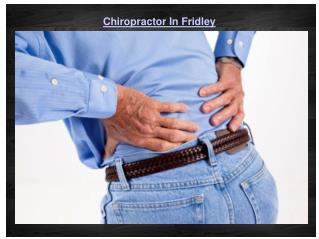 Chiropractor In Fridley
