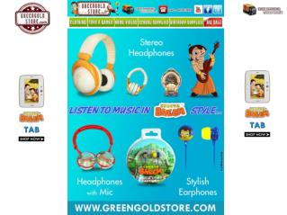 Chota Bheem Headphones & Earphones