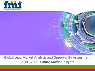 Global Lead Market Analysis and Opportunity Assessment 2014