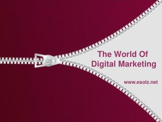 Learn About Digital Marketing Services Company