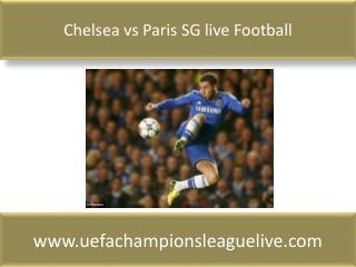Chelsea vs Paris SG live Football