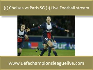 ((( Chelsea vs Paris SG ))) Live Football stream