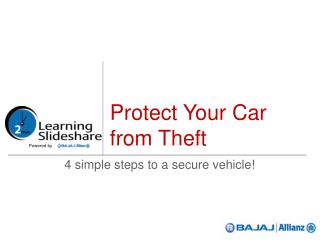 Protect Your Car from Theft