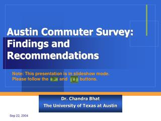 Austin Commuter Survey: Findings and Recommendations