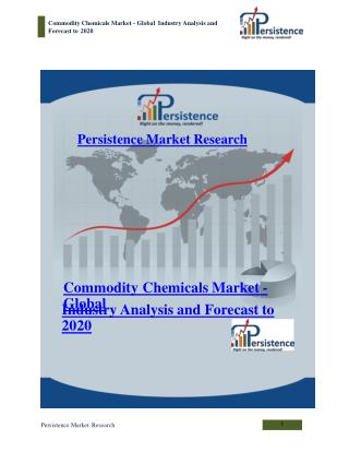 Commodity chemicals market