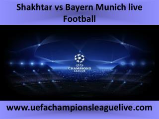 Shakhtar vs Bayern Munich live Football