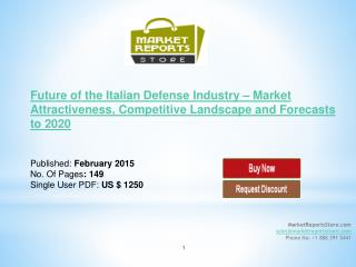 Italian Defense Market and Competitive Landscape Analysis