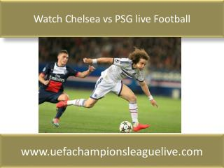 Football sports ((( Chelsea vs PSG ))) match live 17 FEB 201