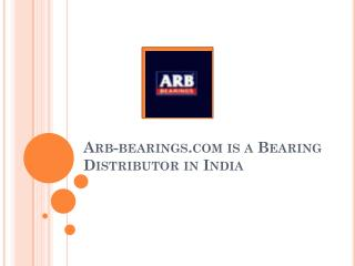 Arb-bearings-com-is-a-Bearing-Distributor-India