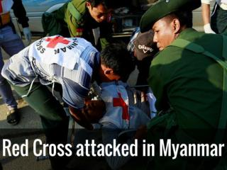Red Cross attacked in Myanmar