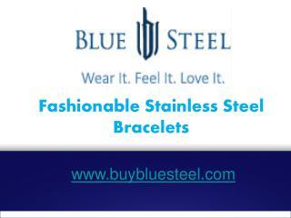 Fashionable Stainless Steel Bracelets - buybluesteel