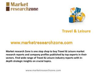 Travel & Leisure market research reports