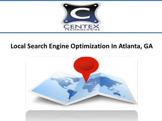 Local Search Engine Optimization In Atlanta, GA