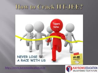 crack iit-jee by kaysons education