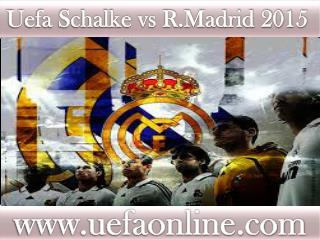 smart phone stream Football ((( Schalke vs R.Madrid )))