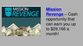 Mission Revenge Review