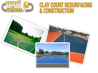 Experts for Tennis and Basketball Court Re-Construction