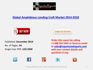 Global Amphibious Landing Craft Market 2014-2018