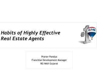 Habits of Highly Effective Real Estate Agents