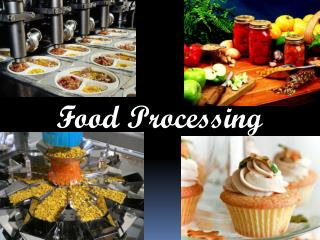 Proper Information about Food Processing