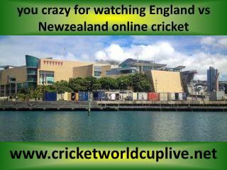 watch Newzealand vs England cricket match in Wellington aus.