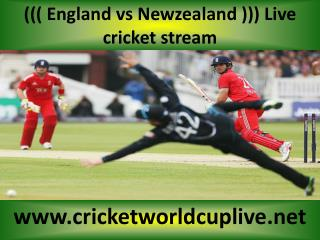 you crazy for watching Newzealand vs England online cricket