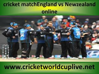 Watch Newzealand vs England live cricketC